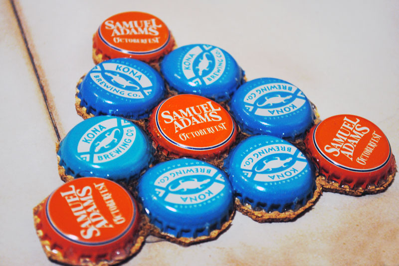 Bottlecap coasters for Cool beer cap ideas
